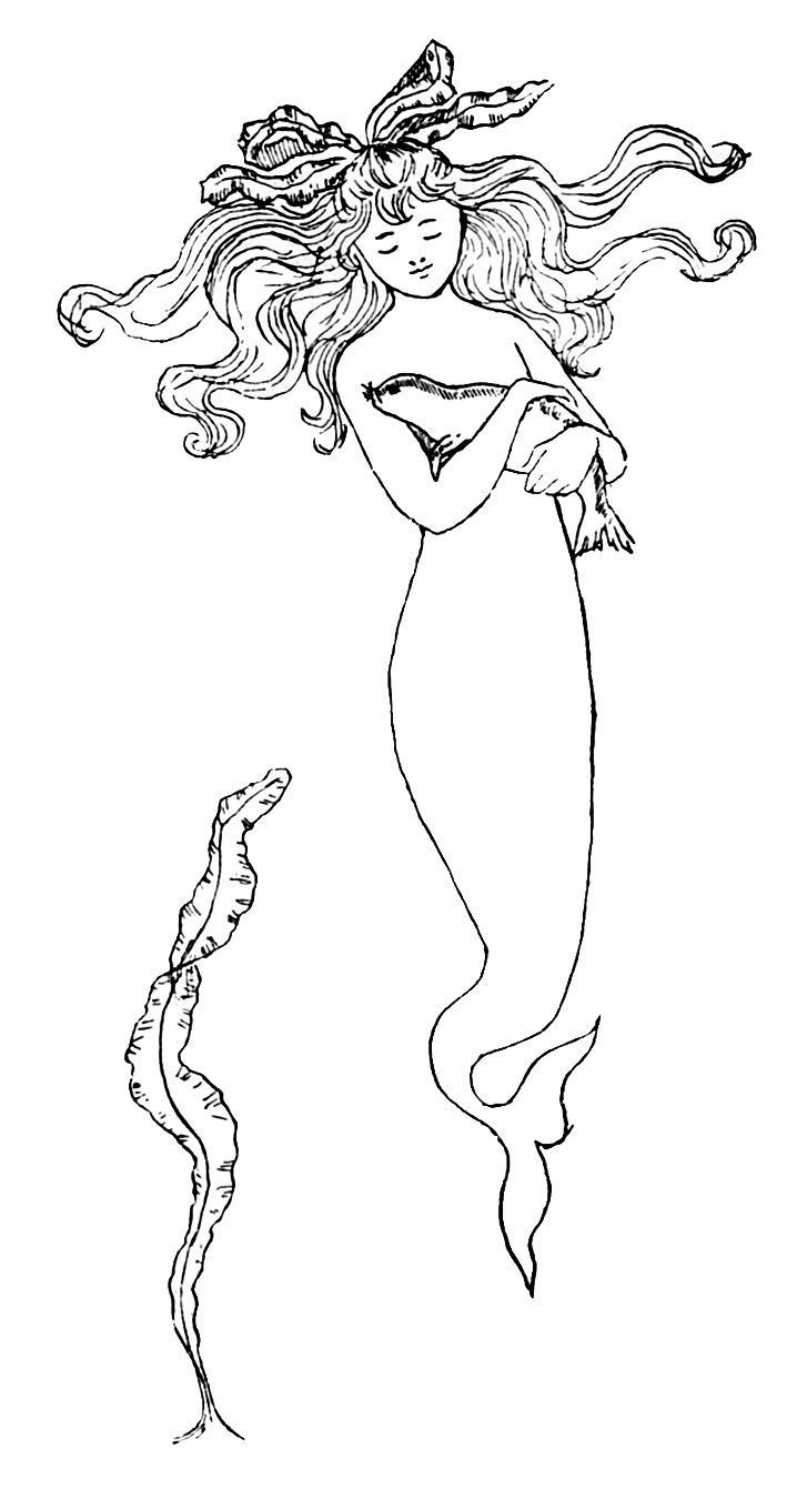 Mermaid clipart old fashioned Earthworm Day Brownies Request Cox