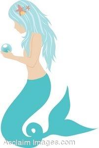 Mermaid clipart public domain Clip Clipart Free Mermaid Clip