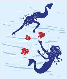 Mermaid clipart public domain Image Printables Images domain mermaids