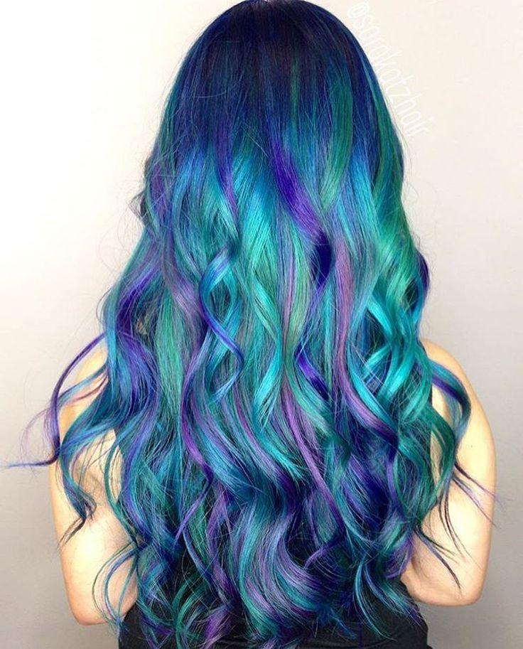 Mermaid clipart purple hair Best  ideas on Blue