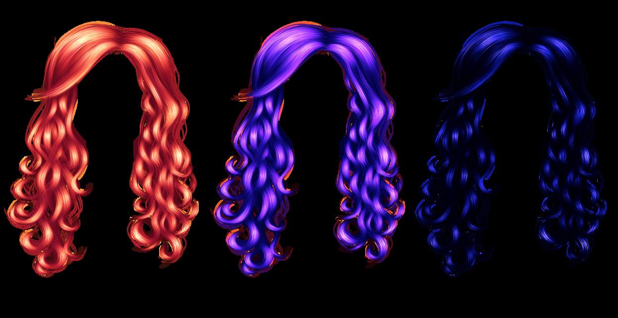 Mermaid clipart purple hair DeviantArt PNG Hair by TheGuillotine3