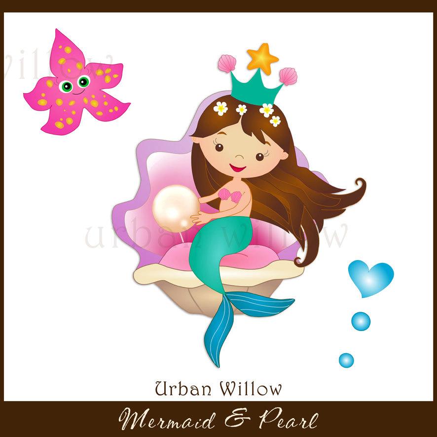 Mermaid clipart seahorse Seahorse MERMAID a This Graphics
