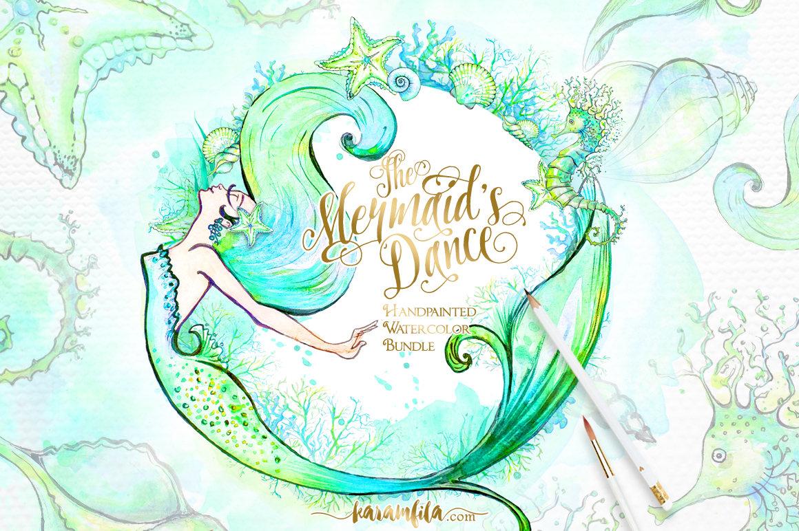 Mermaid clipart seahorse Summer Mermaid a This Sea