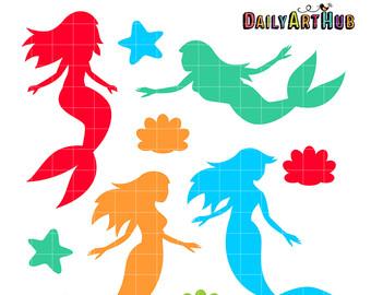 Mermaid clipart simple Cliparts Half mermaid clipart half