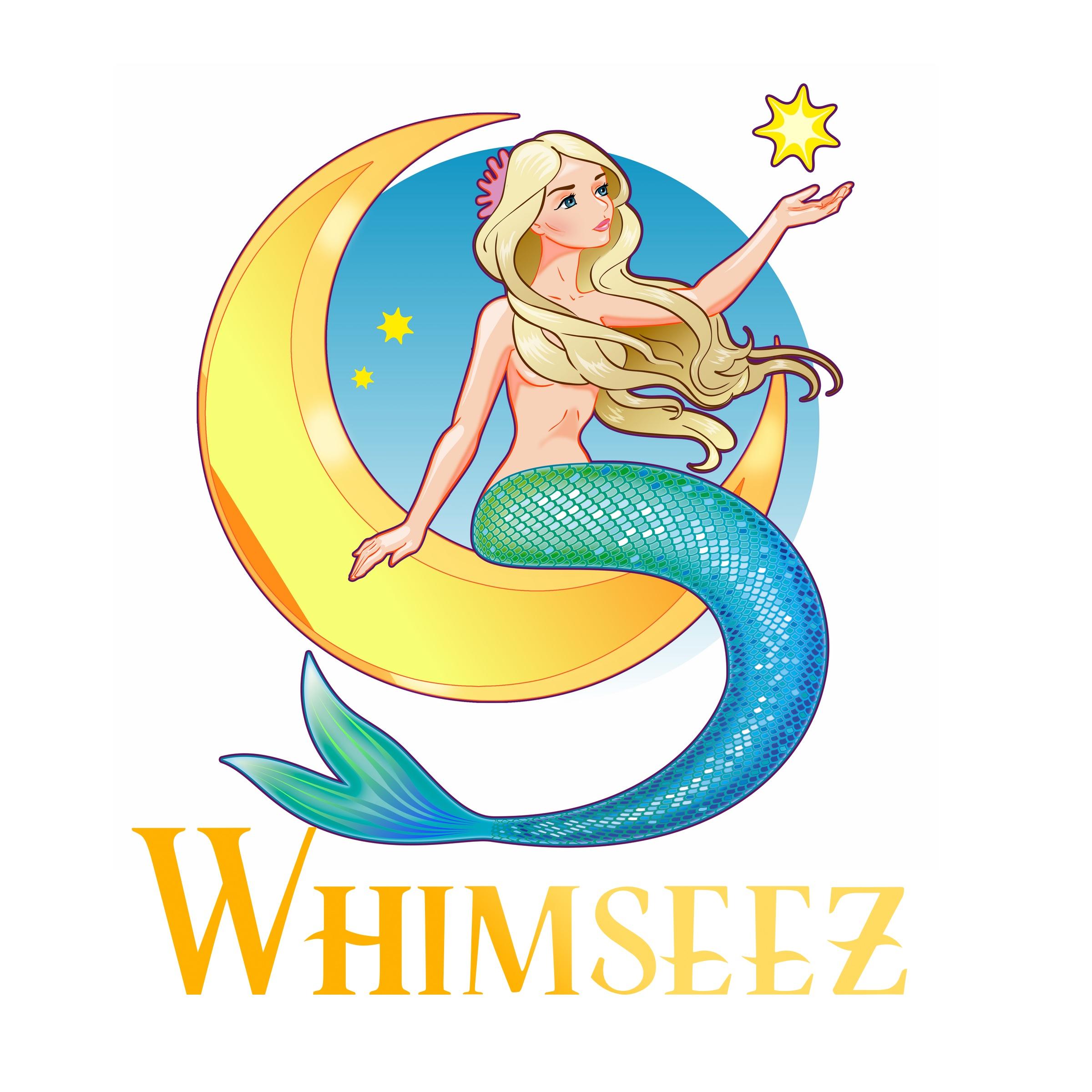Mermaid clipart siren Design Mermaids Watercolor Whimseez Clipart