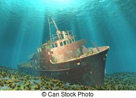 Wreck clipart wrecked ship #2