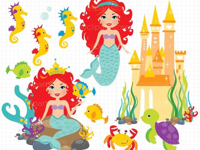 (Ariel) the Clipart / Princess