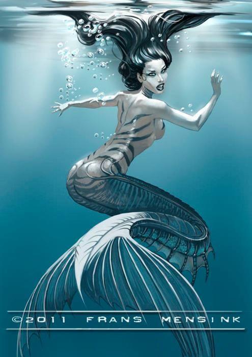 Mermaid clipart wicked By Mermaids art Mensink Mohawk