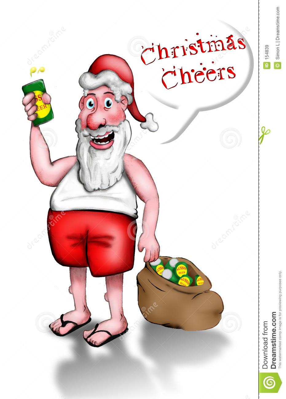 Merry Christmas clipart australian Santa santa clipart free clipart