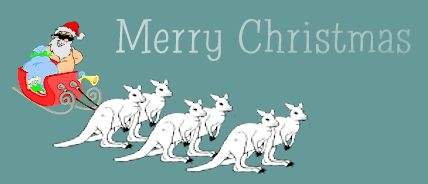 Merry Christmas clipart australian Art Clipart on Free Christmas