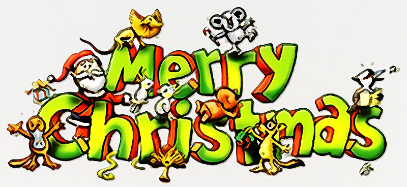 Merry Christmas clipart australian A Merry H Everyone Christmas