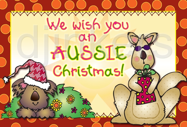 Merry Christmas clipart australian Clipart ClipartMonk christmas Free free