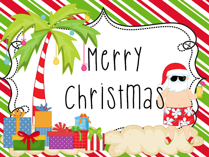 Merry Christmas clipart australian Merry Christmas Christmas! Marathon Reggae