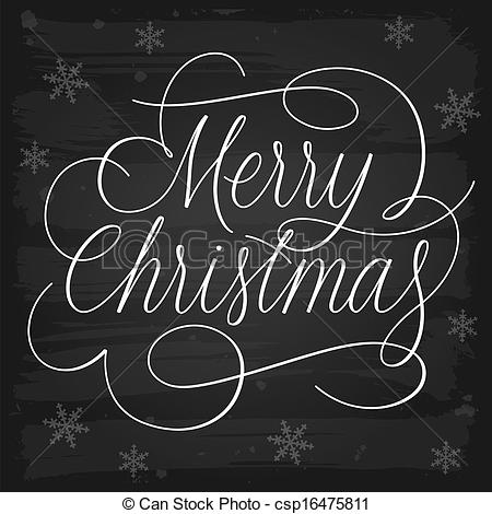 Merry Christmas clipart chalkboard Clip on Merry of Chalkboard