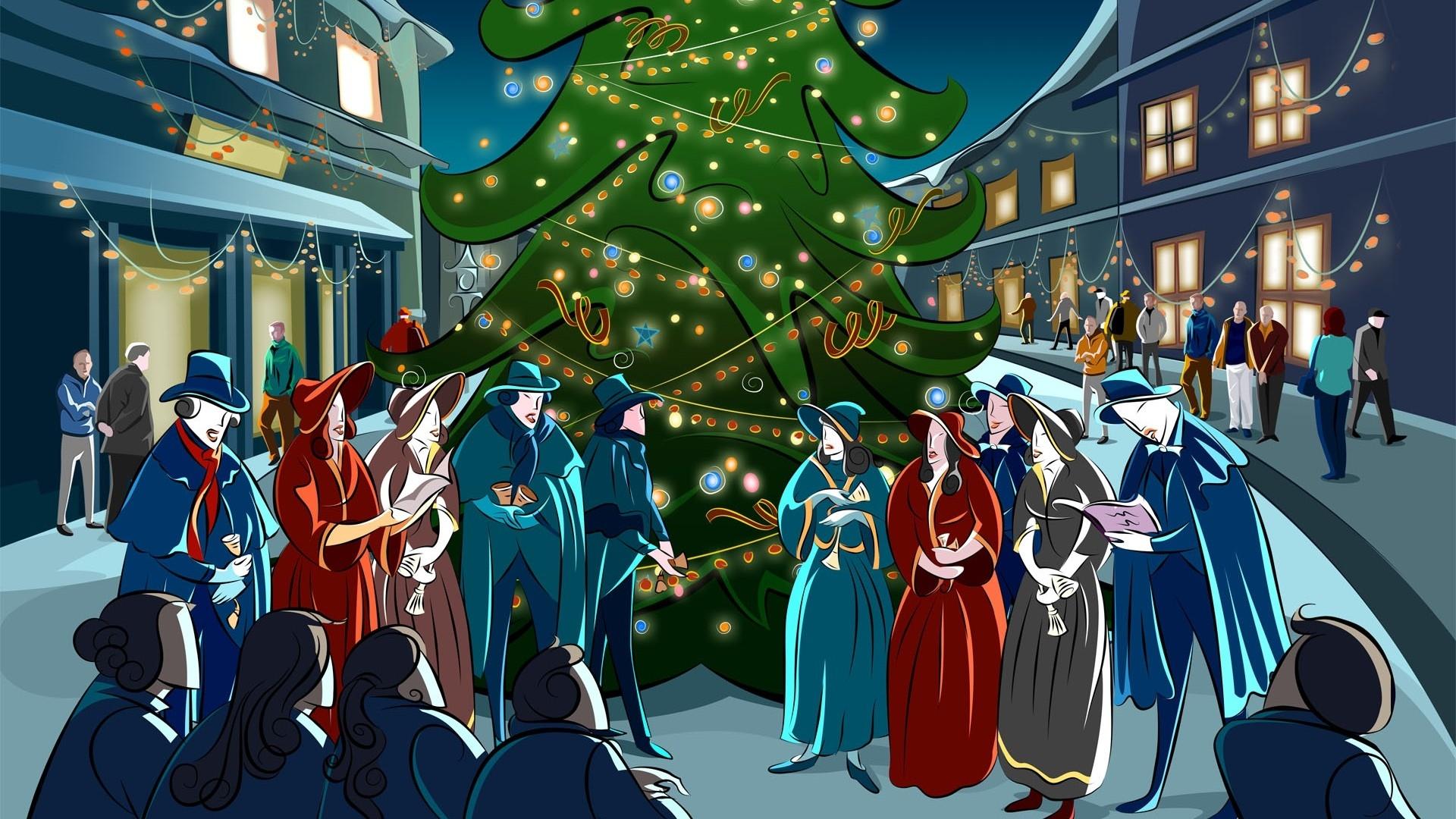 Merry Christmas clipart christmas celebration – Download Clip Celebration Art
