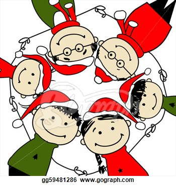 Merry Christmas clipart christmas celebration Clipart Free Year Merry Clipart