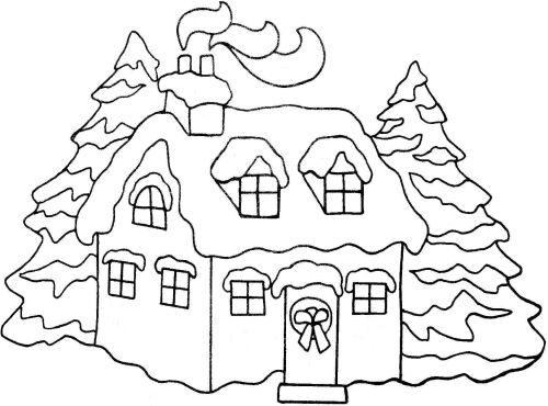Crayon clipart christmas SNOWY CHRISTMAS CHRISTMAS NORTH TO