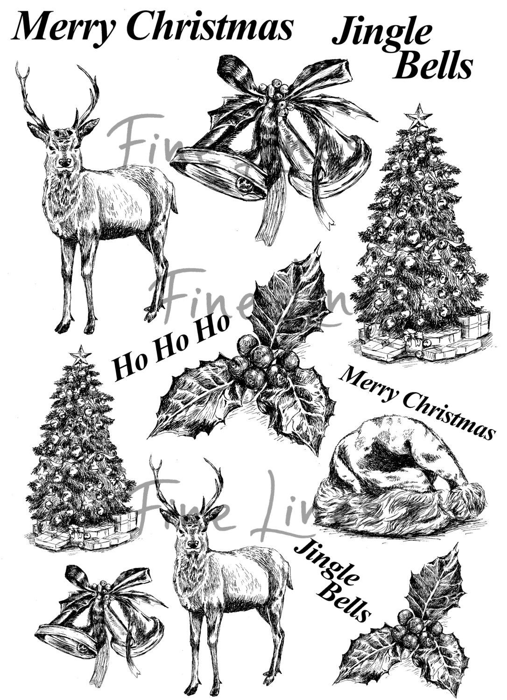 Merry Christmas clipart christmas symbol Christmas decor sheets Christmas Digital