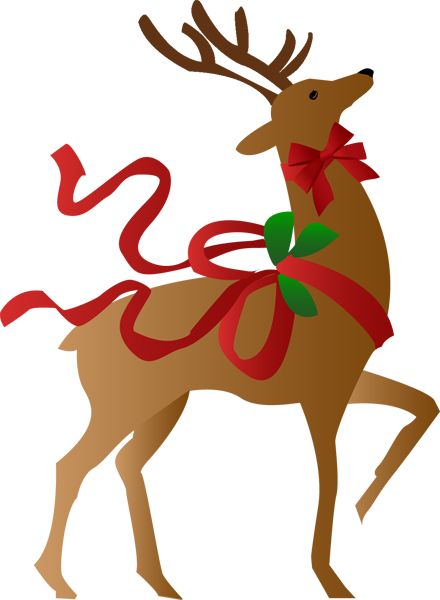 Holydays clipart raindeer 423 more Find Pinterest and