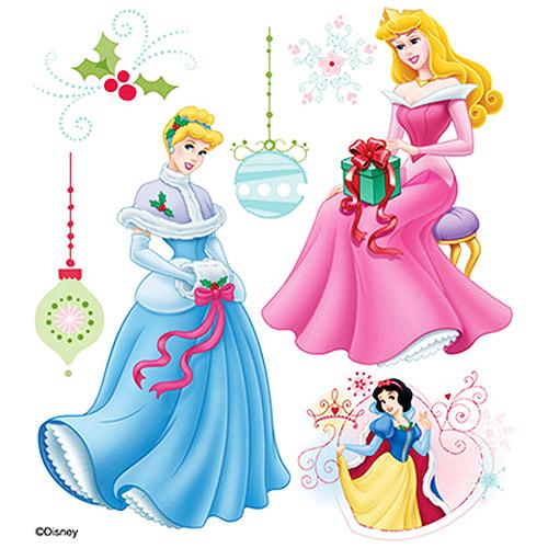Merry Christmas clipart disney princess  Princess Princess Sticker Disney