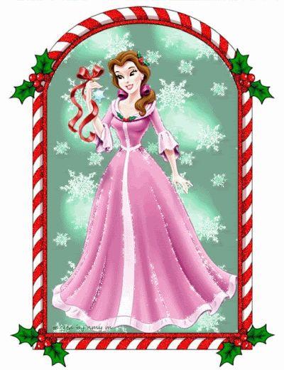 Merry Christmas clipart disney princess On images Pinterest 110 disney
