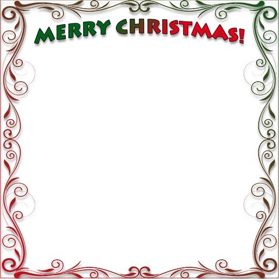 Merry Christmas clipart frame Clipart Borders borders Christmas frames