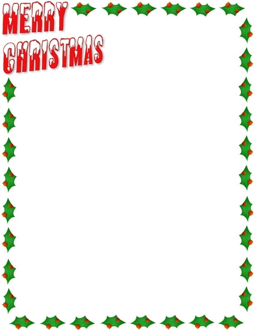 Merry Christmas clipart frame (21) Clipart Border Border Holidays!