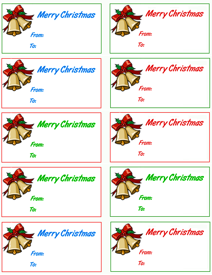 Merry Christmas clipart gift tag /holiday/Christmas png Christmas Christmas bells