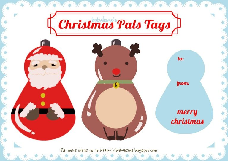 Merry Christmas clipart gift tag Christmas tag Sets Tags A