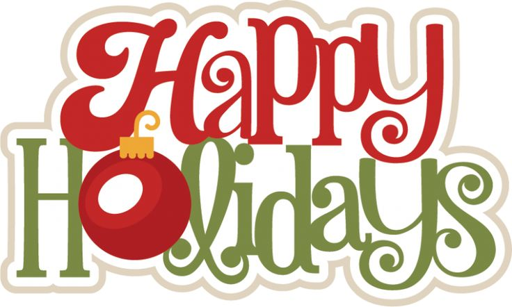 Word clipart happy holiday Happy christmas christmas mybloggingdiary Happy