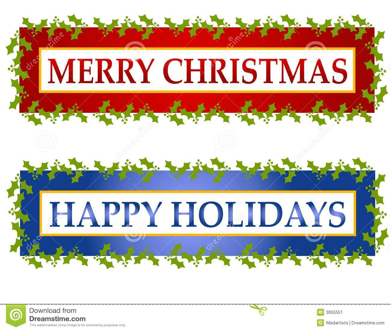Holydays clipart banner Clip Art Clip Happy Banners