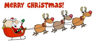 Sanya clipart merry christmas