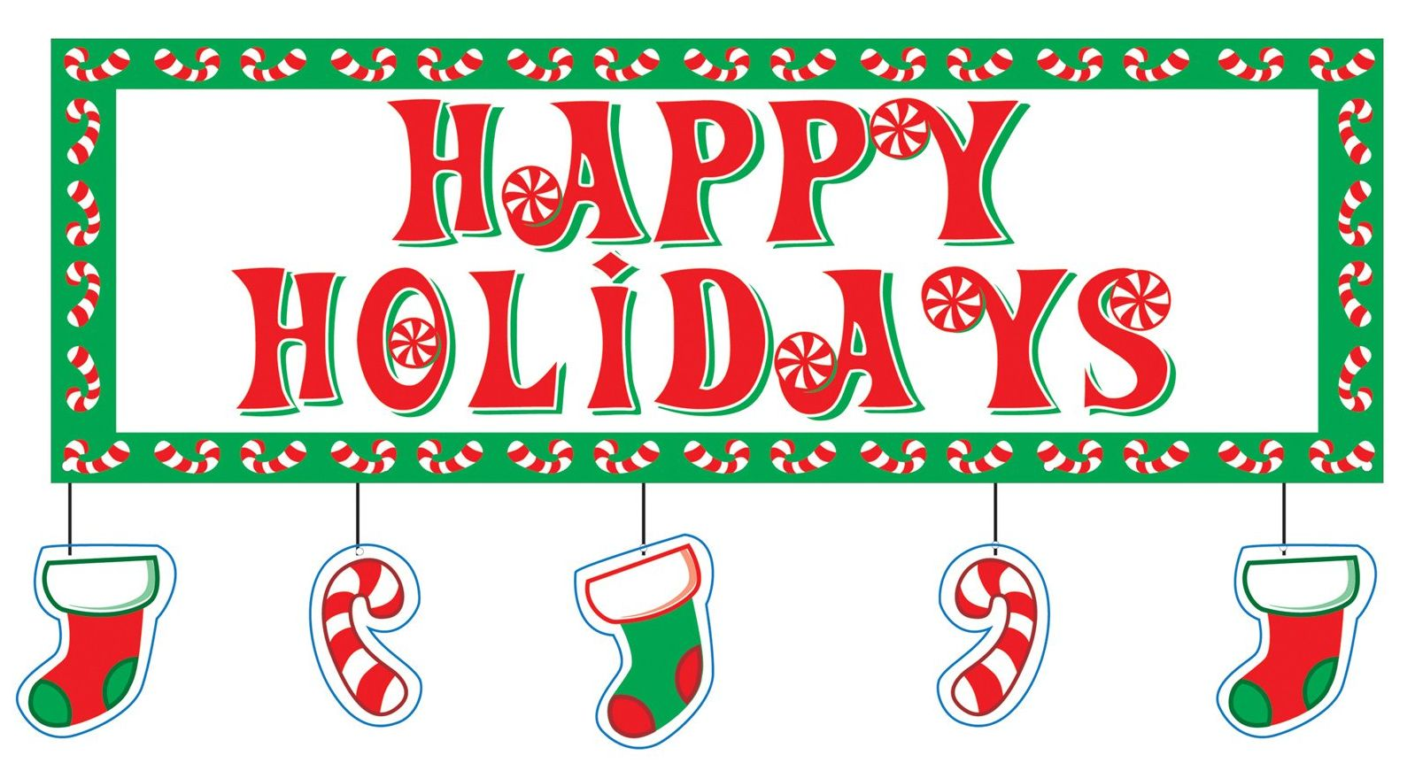 Word clipart happy holiday A &  Medical Happy