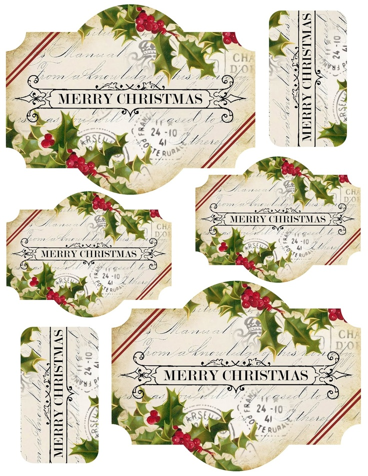 Merry Christmas clipart label Art christmas ideas label ~