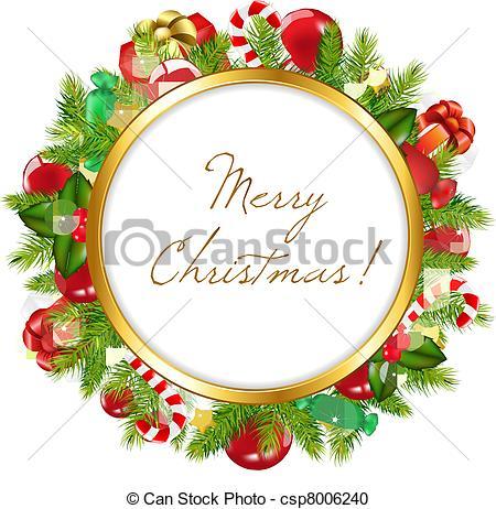 Merry Christmas clipart logo Clipart Merry Vector  Illustration