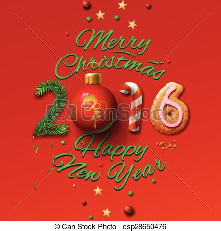 Merry Christmas clipart logo Card Merry and Vectors of