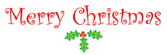 Merry Christmas clipart logo · Christmas Merry Free art