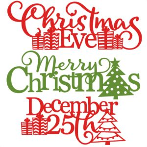 Merry Christmas clipart miss File 2015 cut Christmas Cuttables
