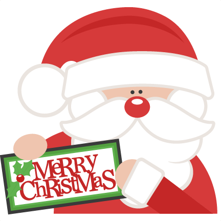 Merry Christmas clipart miss Clipart Santa cute Miss file
