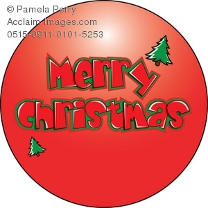 Merry Christmas clipart ornament Clip Art Design Art Merry