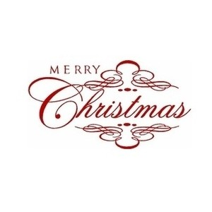 Merry Christmas clipart scroll Scroll Wall Design Polyvore on
