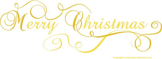 Merry Christmas clipart scroll Merry Christmas Christmas Free Image