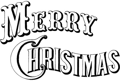 Merry Christmas clipart scroll ~ Christmas Happy 2015 Free