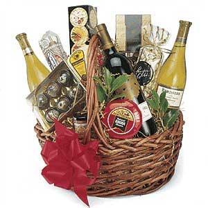 Merry Christmas clipart wine basket 53 Basket Clip wine Gift