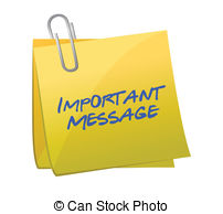 Message clipart Clip Illustrations a Messages Stock