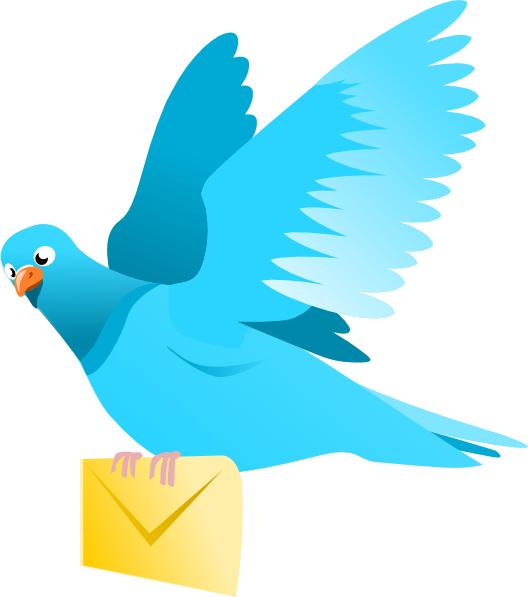 Message clipart Vector royalty Message Delivering