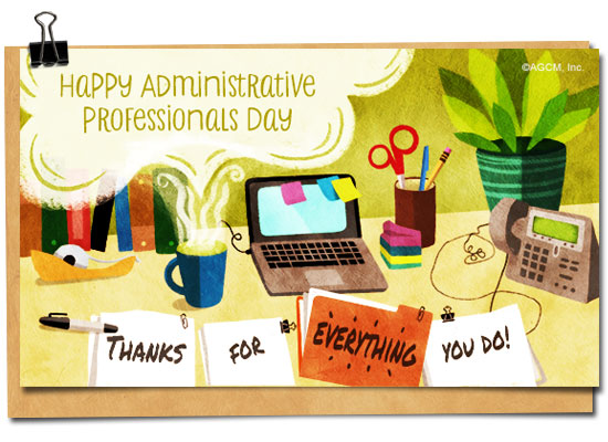 Message clipart administrative Celebration professionals professionals Day Quotes