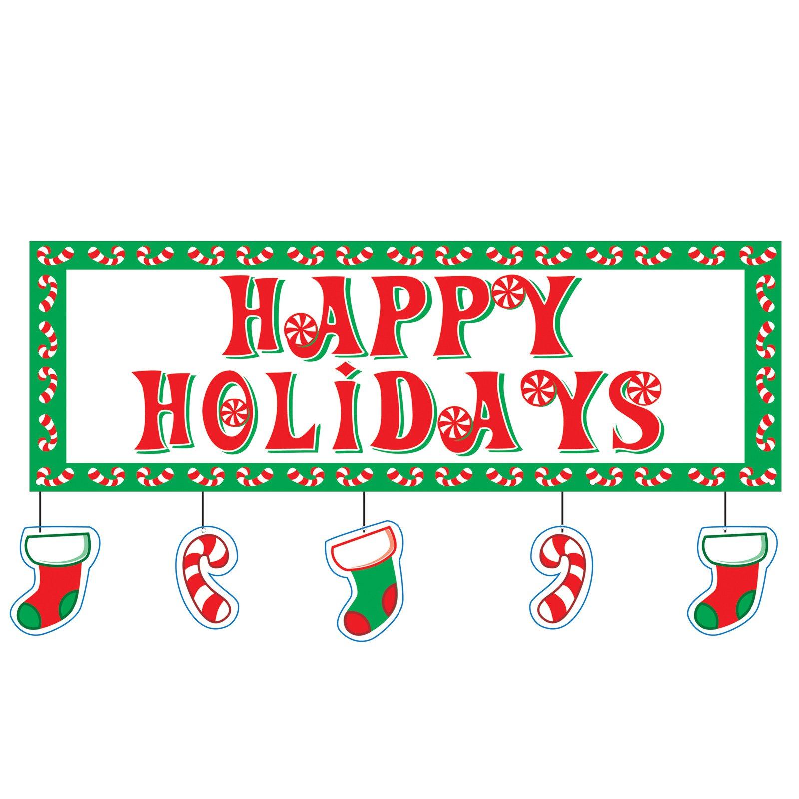 Word clipart happy holiday Christmas  Happy 3d Holidays