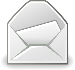 Message clipart black and white Vector Internet Mail online Internet