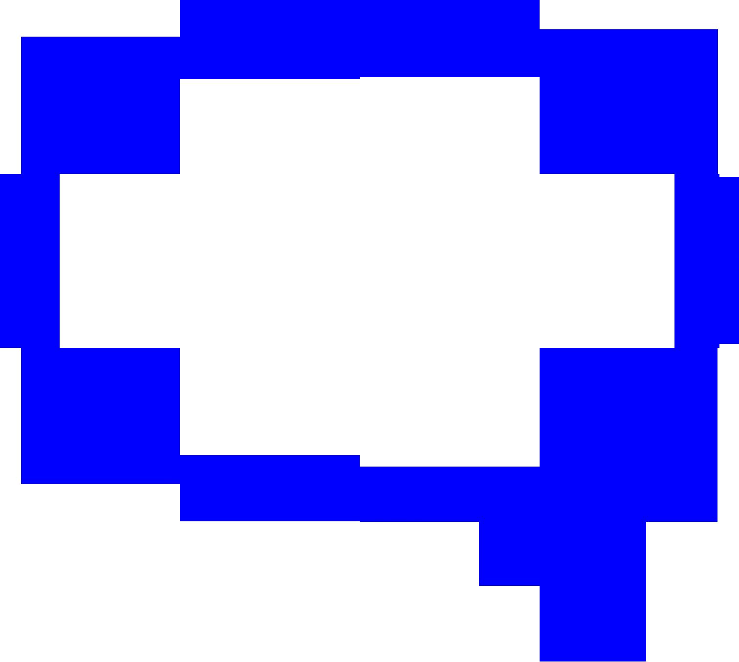 Blue clipart speech bubble Message Clipart Clipart Bubble Bubble
